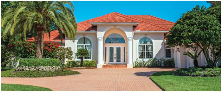 Landscape Image of a Florida Home