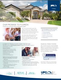 UPC Insurance Florida Brochure Thumbnail